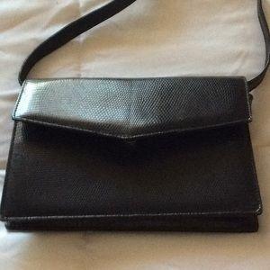 Vintage Gucci mini lizard shoulder bag